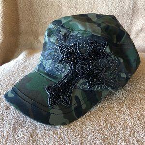 Army Camo Military Patrol Style Cap